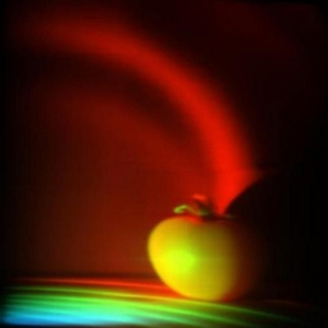 Možemo videti progresivnu sintezu foto grafa. Kodiranjem (popisivanjem) boja u svim slikama i njihovim potonjim sumiranjem možemo stvoriti jedinstveni dugin talasni front.