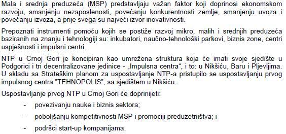 info tehnopolis niksic