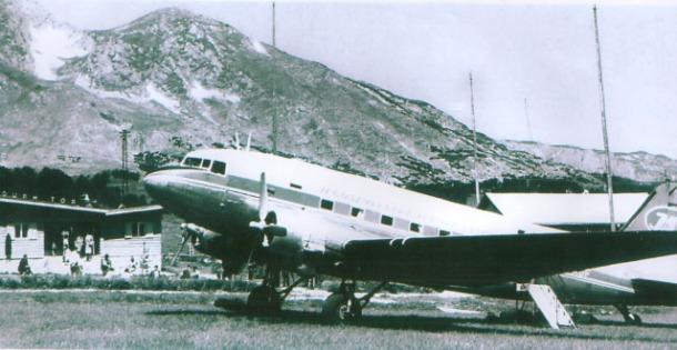 Aerodrom na Zabljaku 1961 w