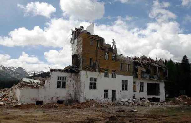 Hotel Durmitor destrukcija 1